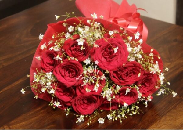 Blooming Boquet of Roses