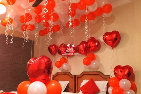 Romantic Theme Decoration For Home Hotel Room