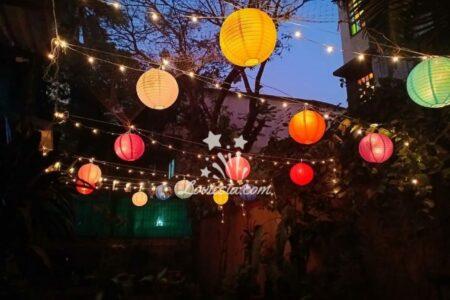 Paper lantern Decoration At Home