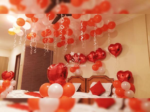 Romantic theme decoration