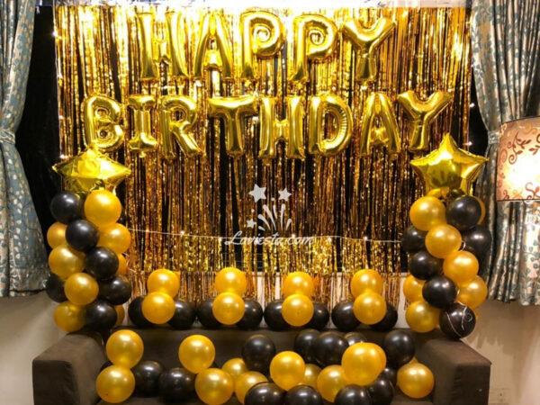 wall decoration for birthday anniversary loviesta
