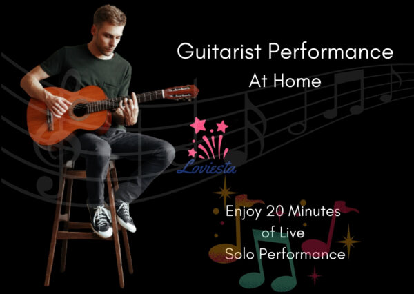 Guitarist Performance At Home