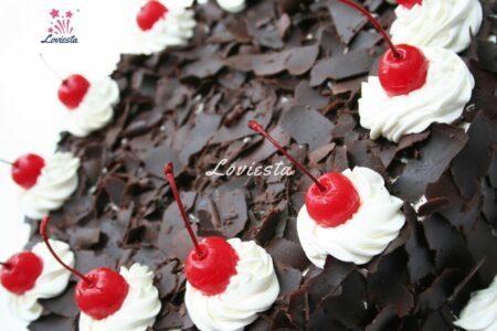 Premium Black Forest Cake Surprise