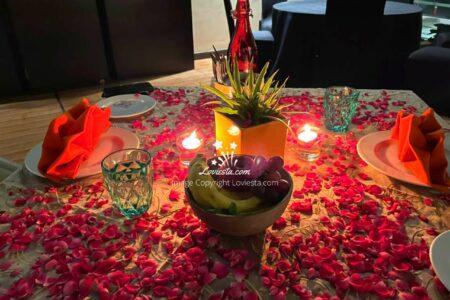 Hyatt Place Gurgaon Candlelight Dinner