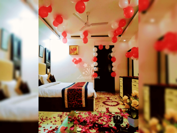 stay with beautiful decorations