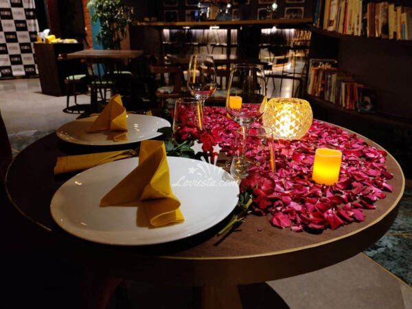 Romantic Candlelight Dinner Mumbai