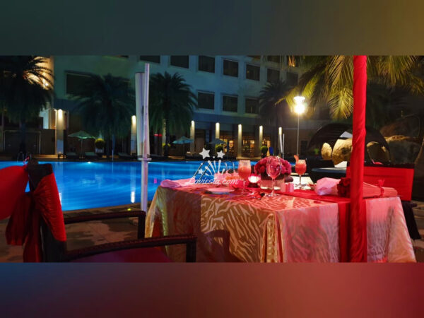 Poolside Candlelight Dinner Hyderabad