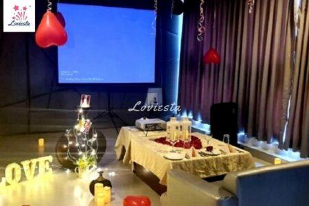 Private Movie With Candlelight Dinner Mumbai