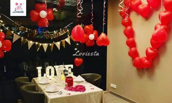 Romantic Indoor Candlelight Dinner In Mumbai