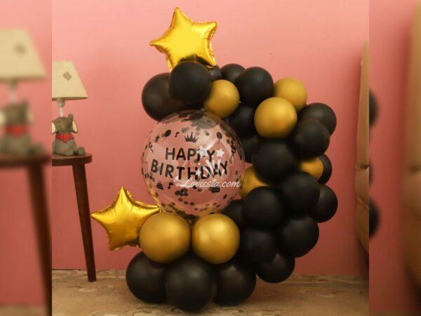 Balloon Bouquet For Birthday Surprise