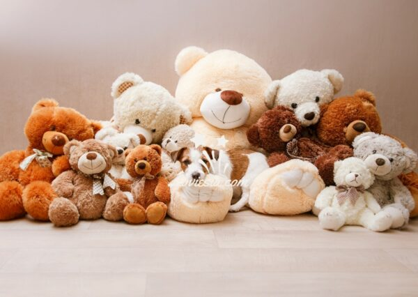 Cute Teddy Delivery Surprise