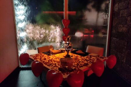 Romantic Candlelight Dinner in Hyderabad