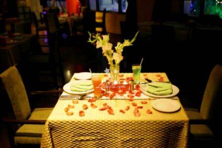 Alluring Candlelight Dinner At Taj Deccan Hyderabad