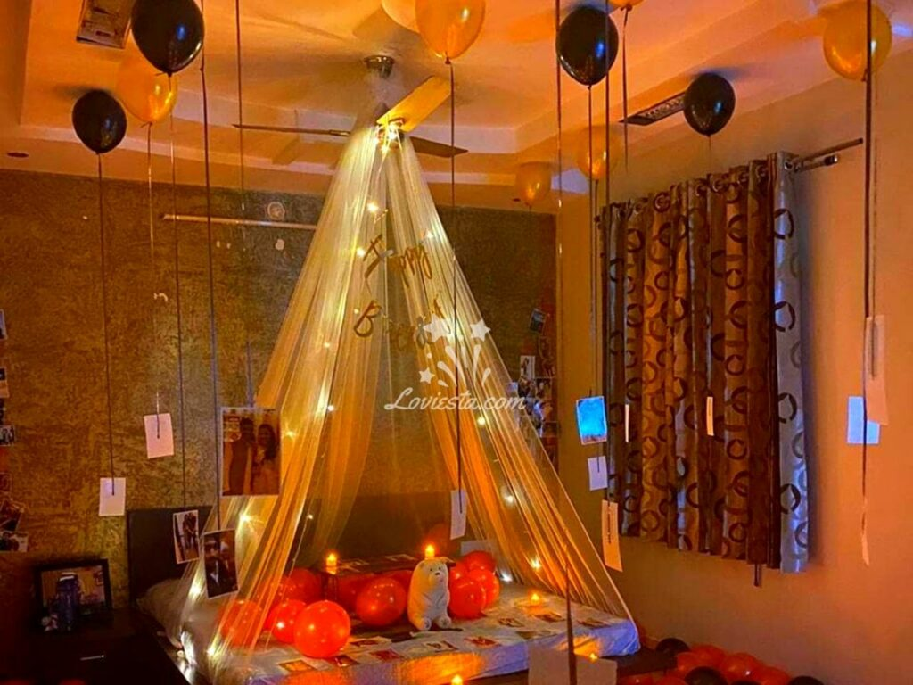 Romantic Canopy Decoration At Home