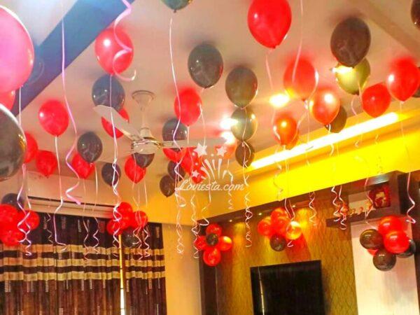 Metallic Balloon Decoration Bangalore