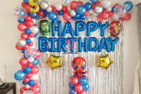 Superhero Theme Decoration At Home
