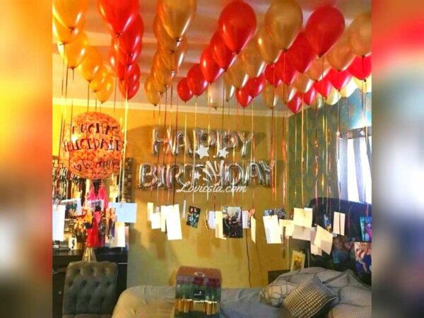 Lite Balloon Decoration At Home In Bangalore