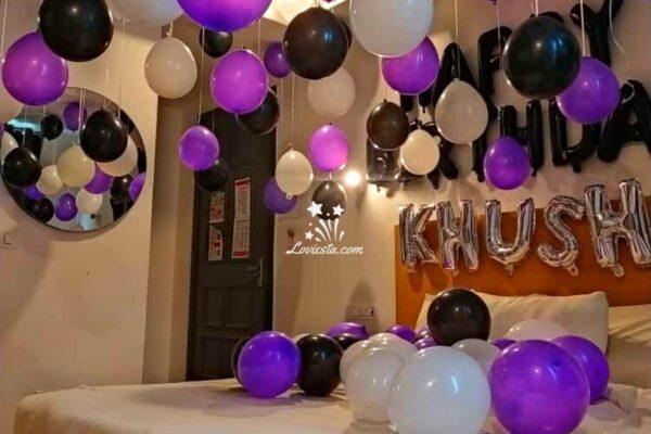Hanging Balloon Decoration At Home