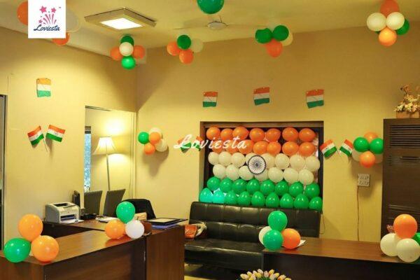Independence, Republic Day Decoration Loviesta 002