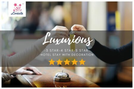 Luxurious Hotel Room Stay With Decoration Loviesta